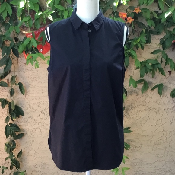 e40142d2c1b J. Crew Factory Tops - J. Crew Sleeveless Button Down Infinity Shirt 14